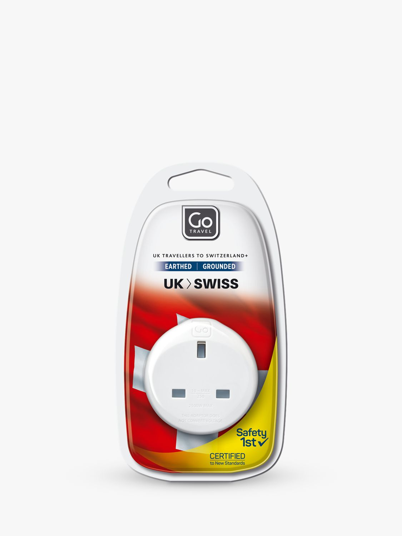 Go Travel Go Travel USB UK to Swiss Travel Adaptor