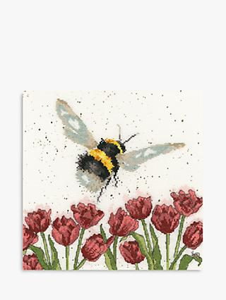 Bothy Threads Flight of The Bumble Bee Cross Stitch Kit