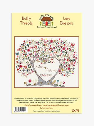 Bothy Threads Kim Anderson Love Blossoms Cross Stitch Kit