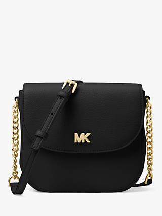 MICHAEL Michael Kors Leather Half Dome Cross Body Bag