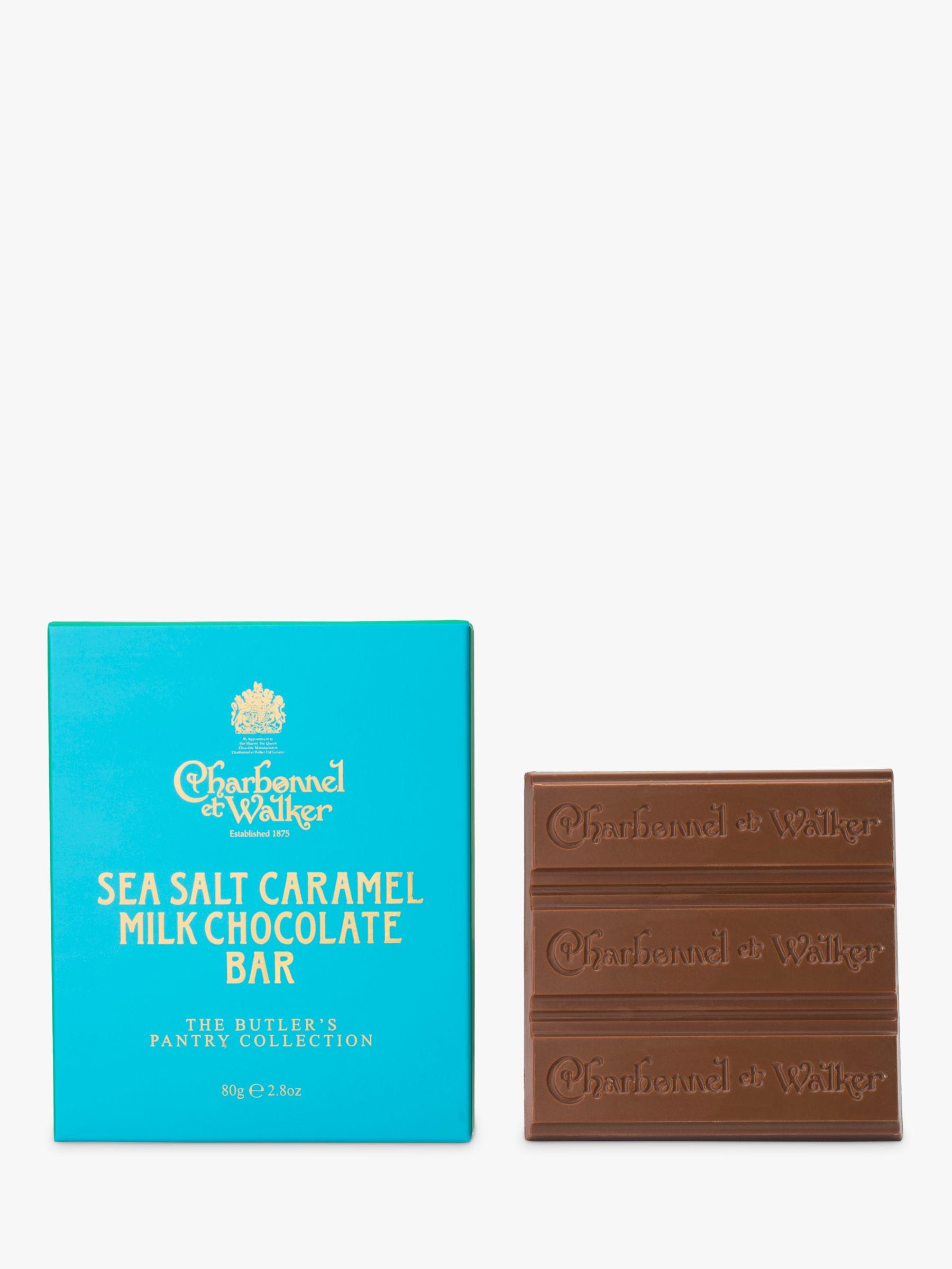 Charbonnel et Walker Charbonnel et Walker Butler's Pantry Collection Sea Salt Caramel Milk Chocolate Bar, 80g