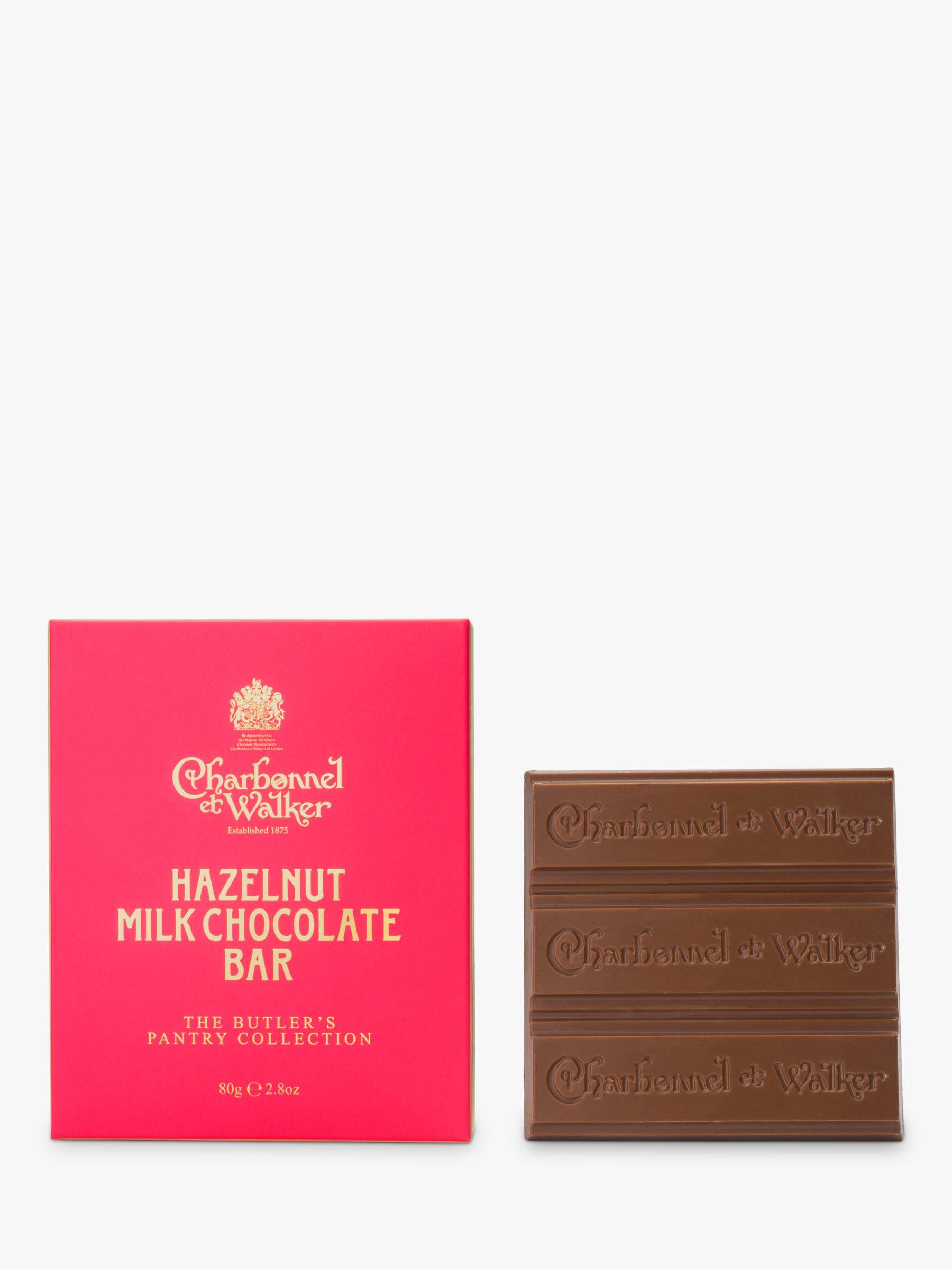 Charbonnel et Walker Charbonnel et Walker Butler's Pantry Collection Hazelnut Milk Chocolate Bar, 80g