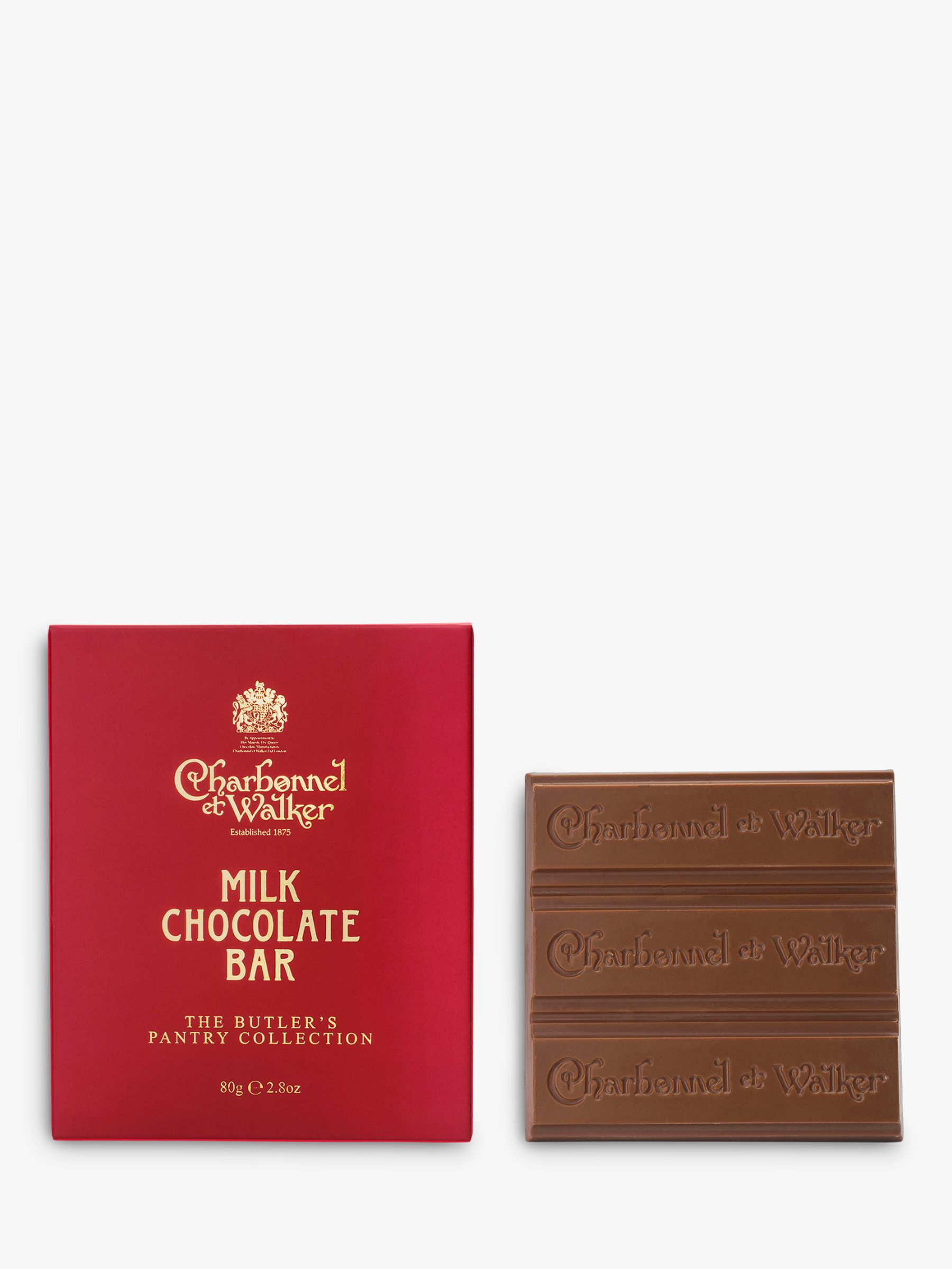 Charbonnel et Walker Charbonnel et Walker Butler's Pantry Collection Milk Chocolate Bar, 80g