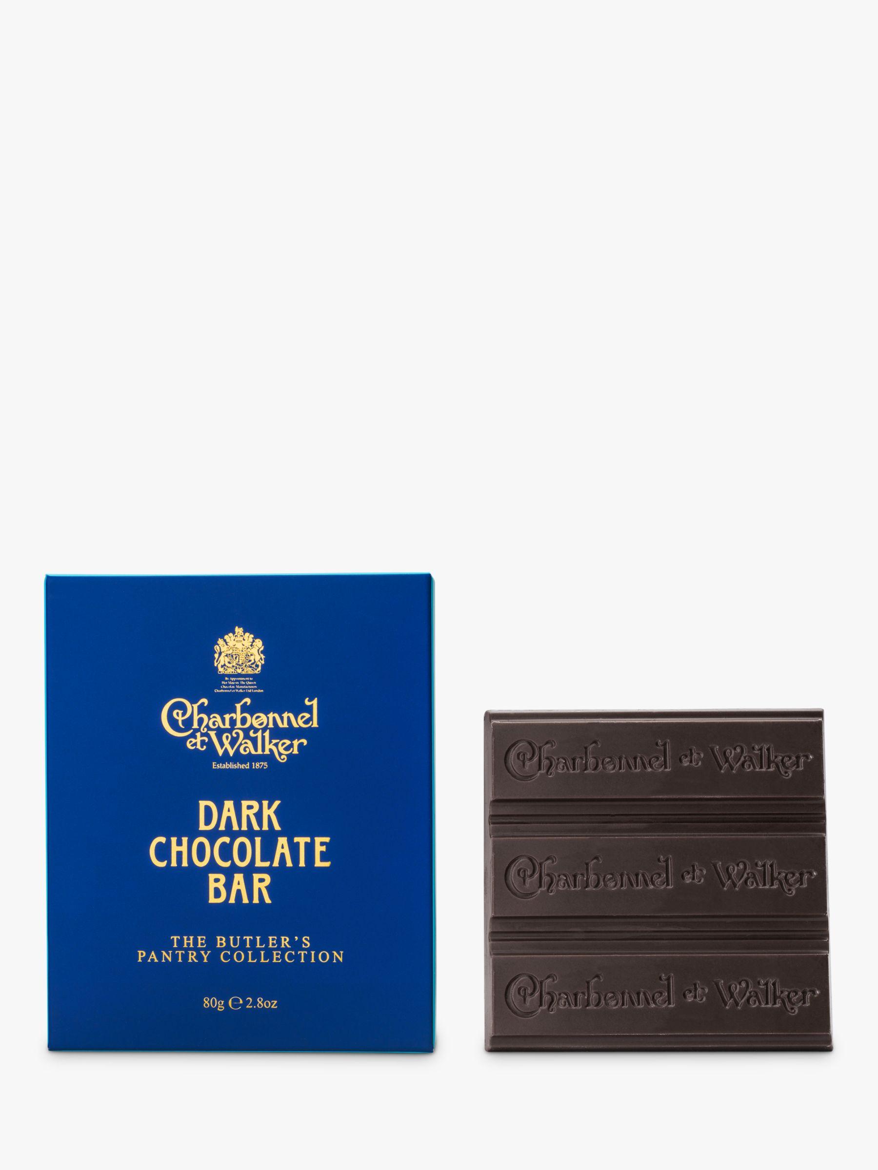 Charbonnel et Walker Charbonnel et Walker Butler's Pantry Collection Dark Chocolate Bar, 80g