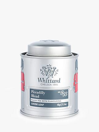 Whittard Piccadilly Blend Loose Leaf Black Tea Mini Tin, 40g