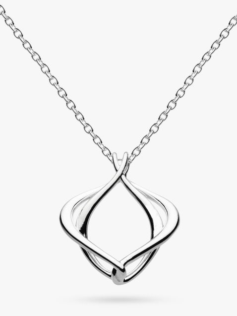 Kit Heath Kit Heath Alicia Abstract Pendant Necklace, Silver