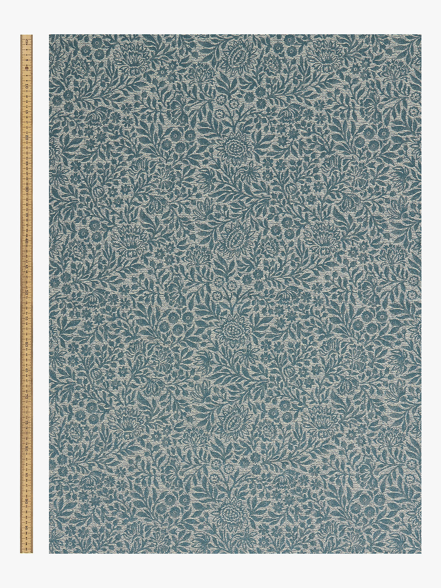 Buy John Lewis & Partners Hidcote Weave Furnishing Fabric, Heritage Blue Online at johnlewis.com