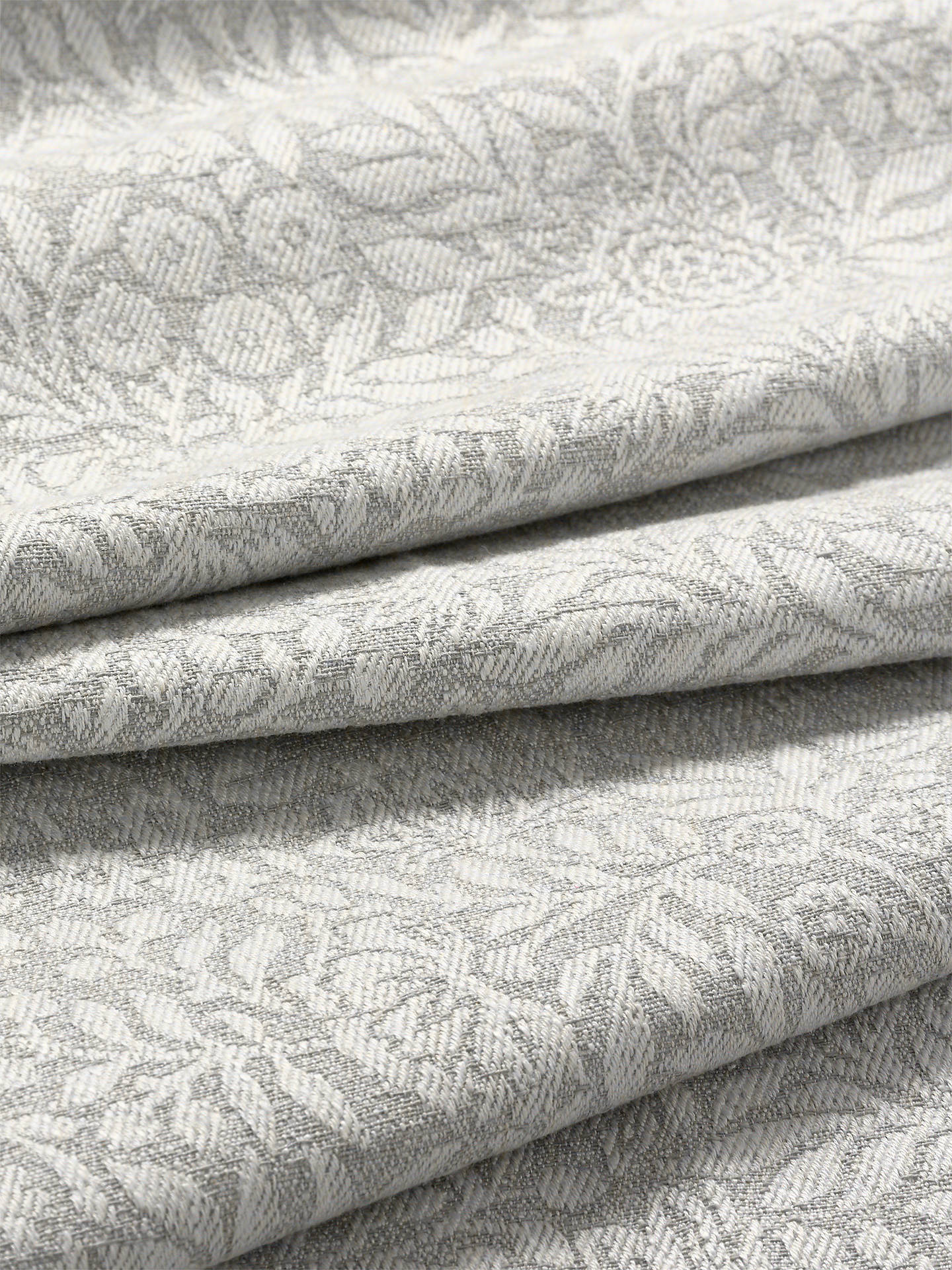 Buy John Lewis & Partners Hidcote Weave Furnishing Fabric, Dove Online at johnlewis.com
