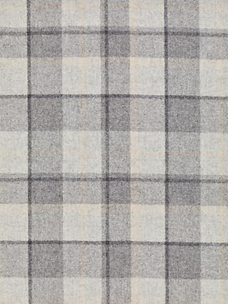 John Lewis & Partners Wool Check Furnishing Fabric