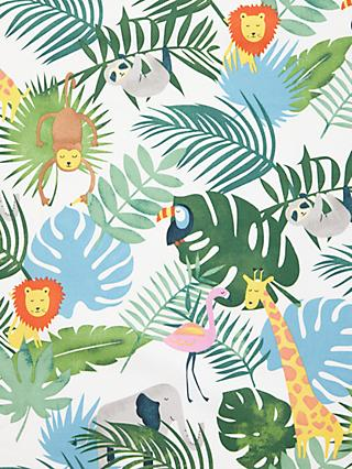 John Lewis & Partners Safari and Friends Furnishing Fabric, Multi