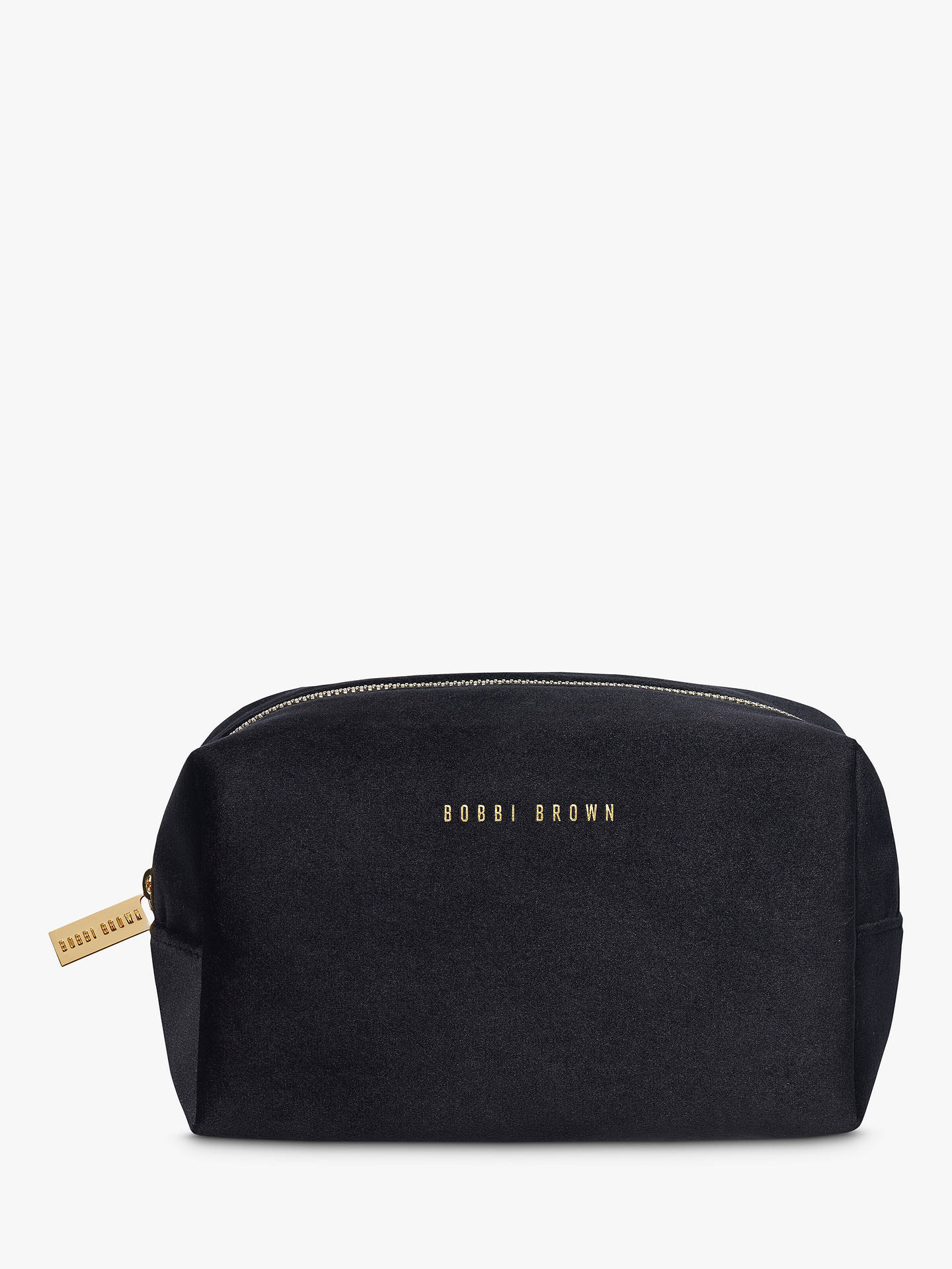 Bobbi Brown Velvet Makeup Bag Black