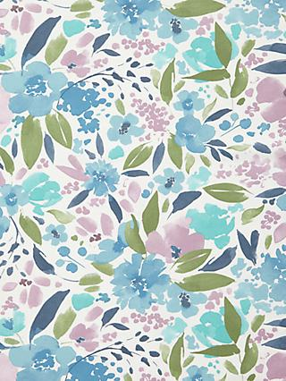 John Lewis & Partners Lucia Floral PVC Tablecloth Fabric