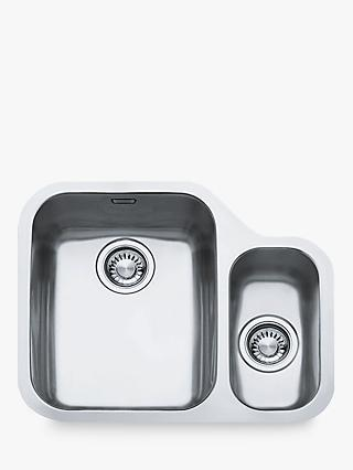 Franke Ariane ARX160 1.5 Left Hand Bowl Kitchen Sink, Stainless Steel