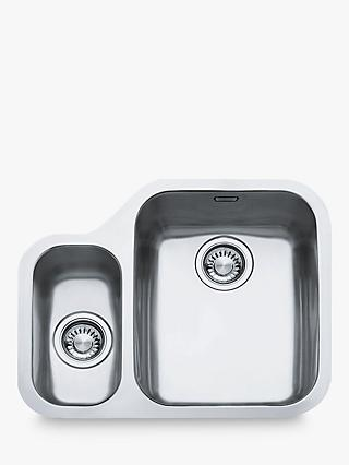 Franke Ariane ARX160 1.5 Right Hand Bowl Kitchen Sink, Stainless Steel