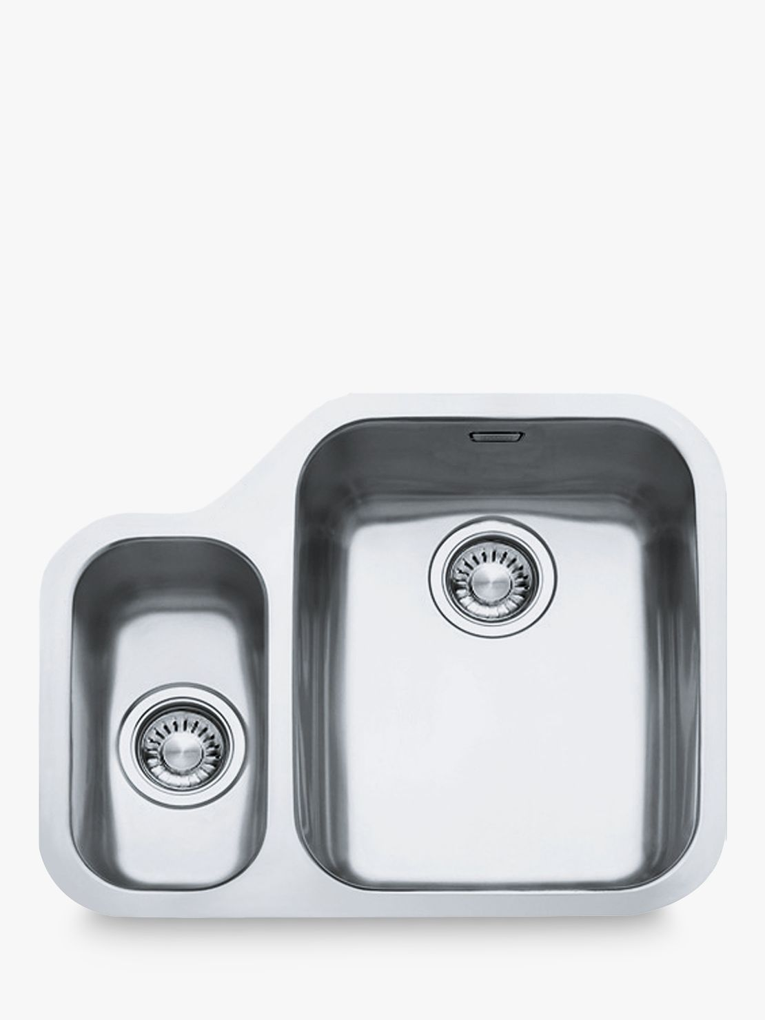 Franke Franke Ariane ARX160 1.5 Right Hand Bowl Kitchen Sink, Stainless Steel