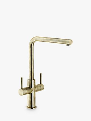 Franke Neptune Swivel Spout 2 Lever Kitchen Mixer Tap