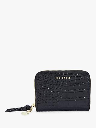 Ted Baker Stamo Leather Small Zip Around Purse