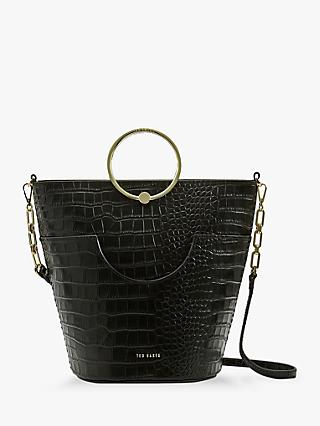 Ted Baker Ashher Leather Bucket Bag