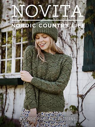 Novita Nordic Country Life Knitting and Crochet Pattern Booklet