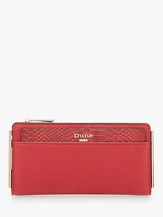 Dune Kantelle Slimline Purse, Red