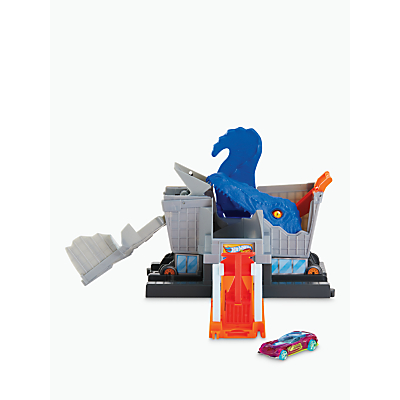 Hot Wheels City Nemesis T-Rex Grocery Attack Playset