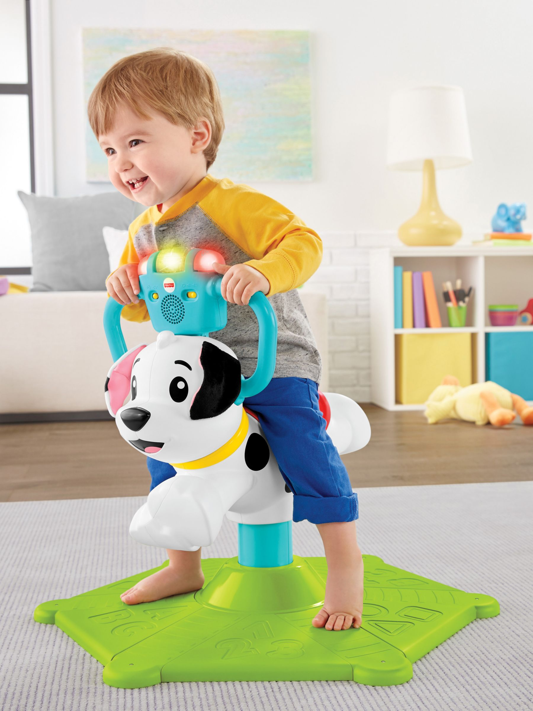 Fisher-Price Fisher-Price Bounce & Spin Puppy