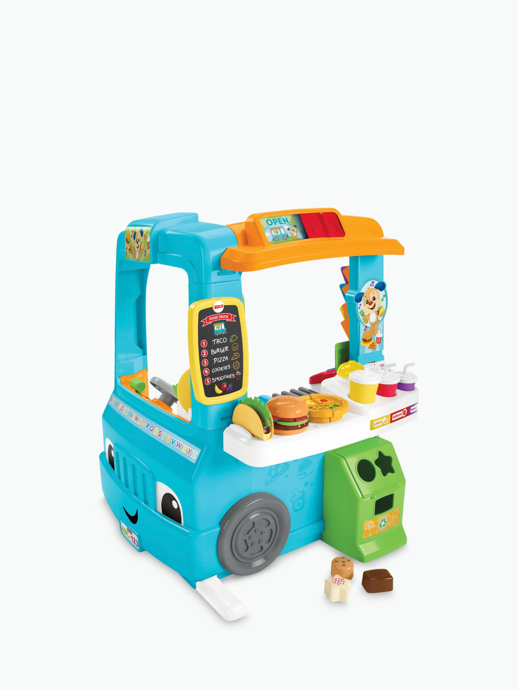 Fisher-Price Fisher-Price Laugh & Learn Servin' Up Fun Food Truck
