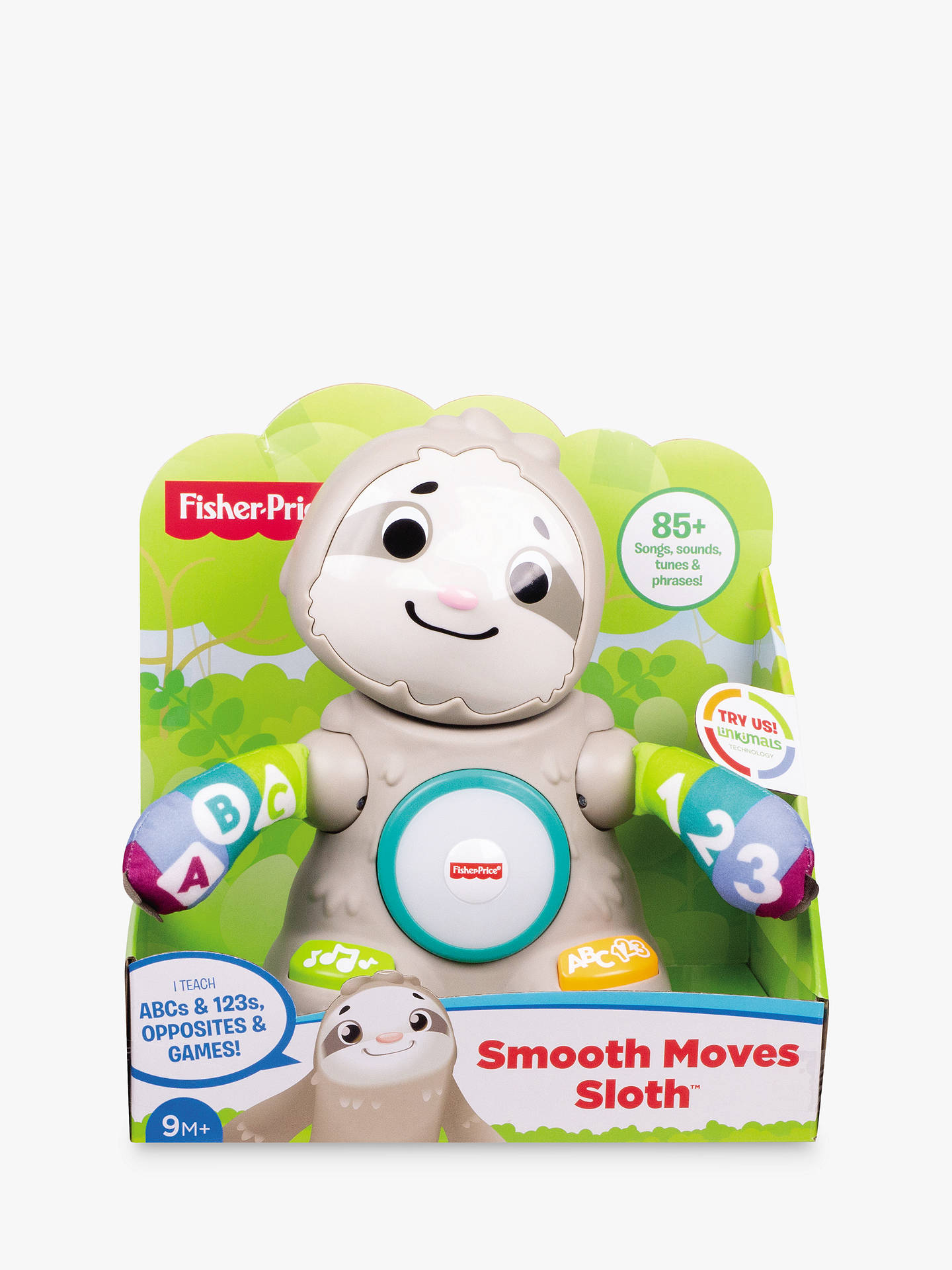 Buy Fisher-Price Linkimals Smooth Moves Sloth Online at johnlewis.com
