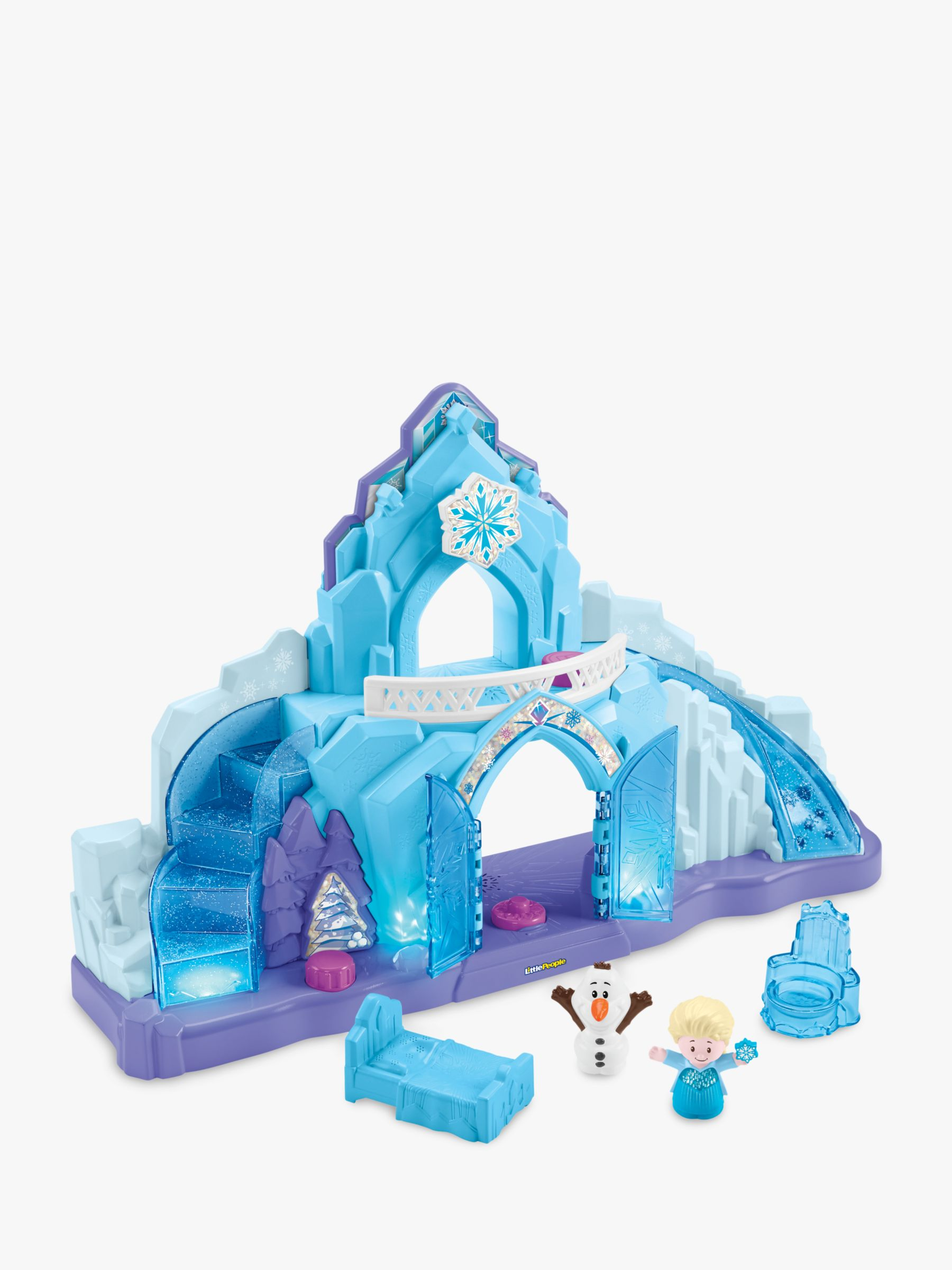 Fisher-Price Fisher-Price Little People Disney Frozen Elsa's Ice Palace
