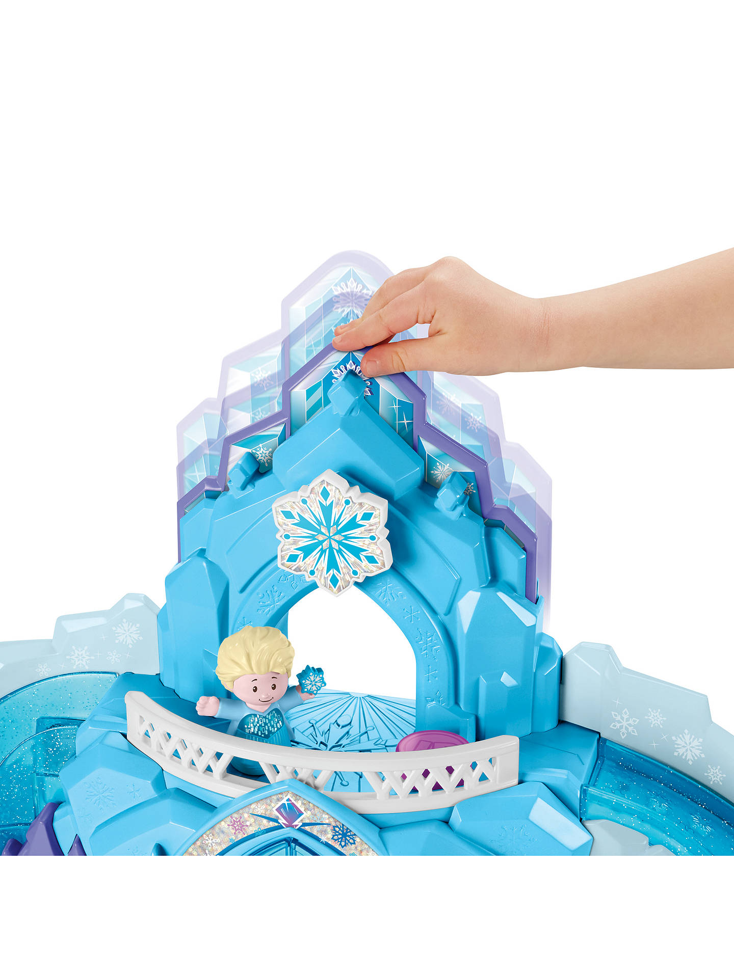 Buy Fisher-Price Little People Disney Frozen Elsa's Ice Palace Online at johnlewis.com