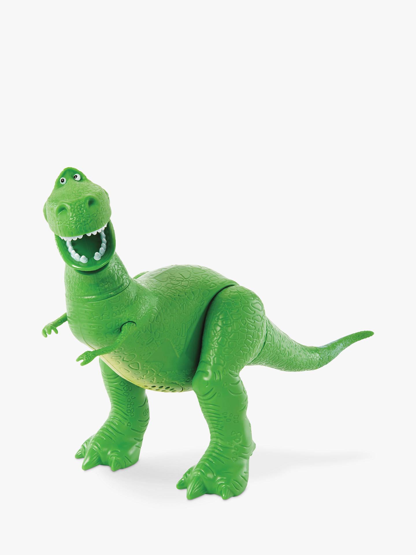 Disney Pixar Toy Story Rex Cushion Dinosaurs Children Green