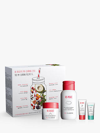 Buy Clarins My Clarins Skincare Gift Set Online at johnlewis.com