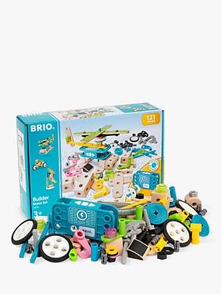 BRIO 34591 Builder Motor Set, FSC-Certified (Beech)