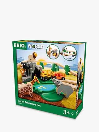 BRIO Wooden Safari Adventure Set, FSC-Certified (Beech)
