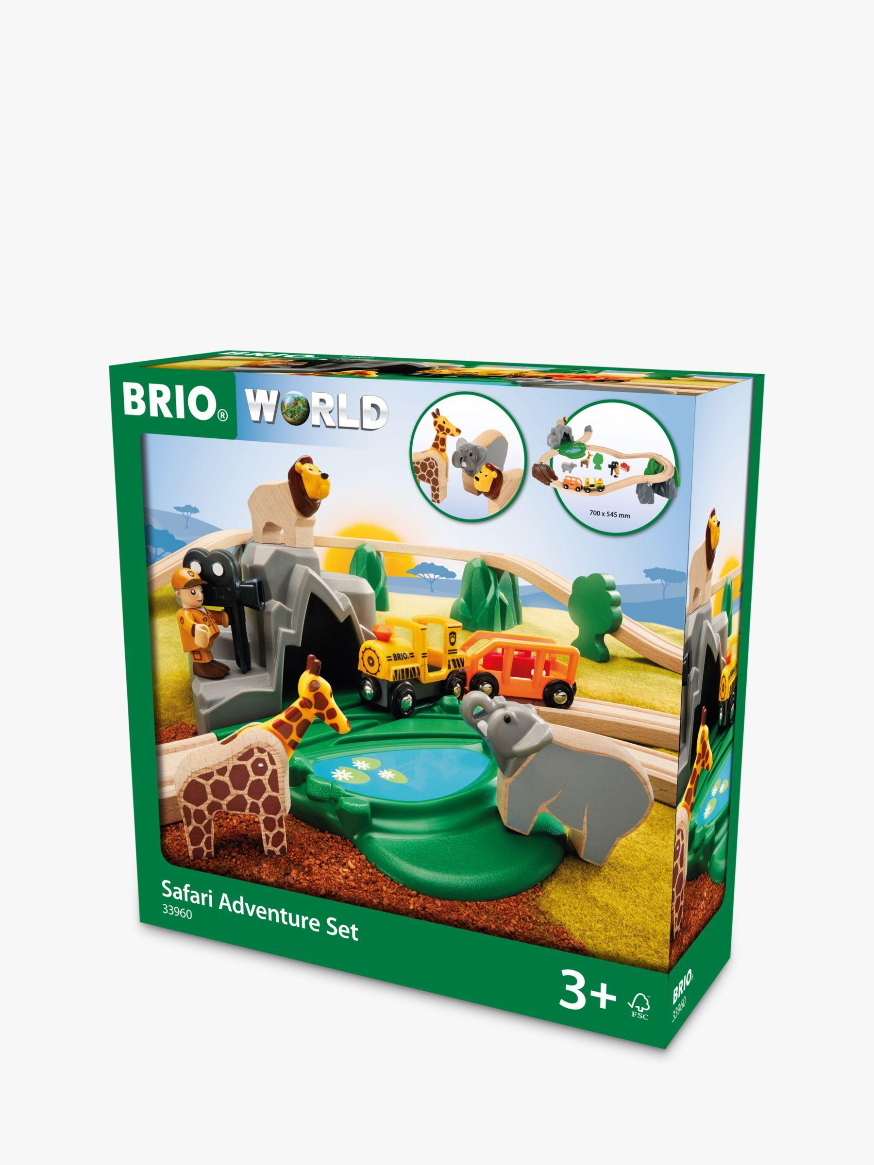 BRIO BRIO Wooden Safari Adventure Set