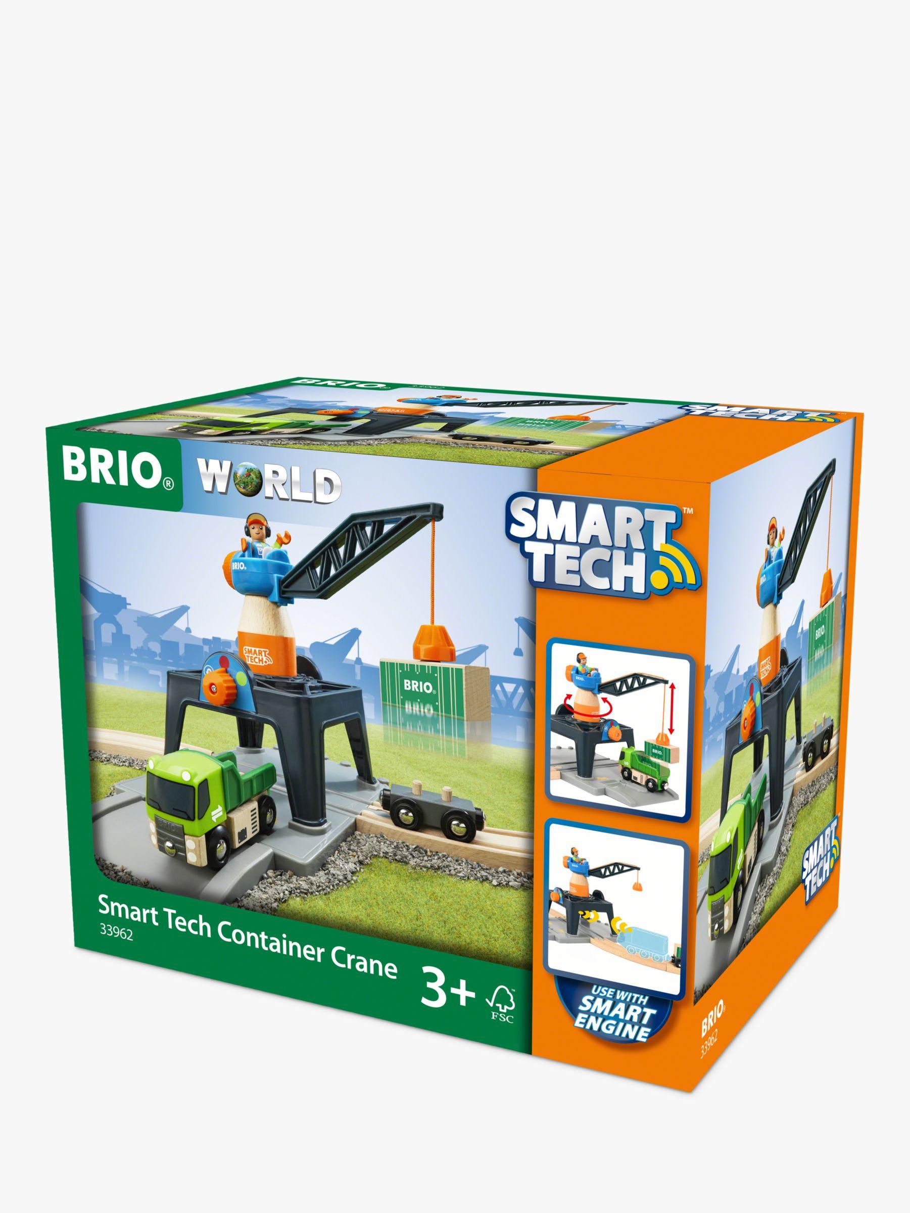 BRIO BRIO World Smart Tech Container Crane