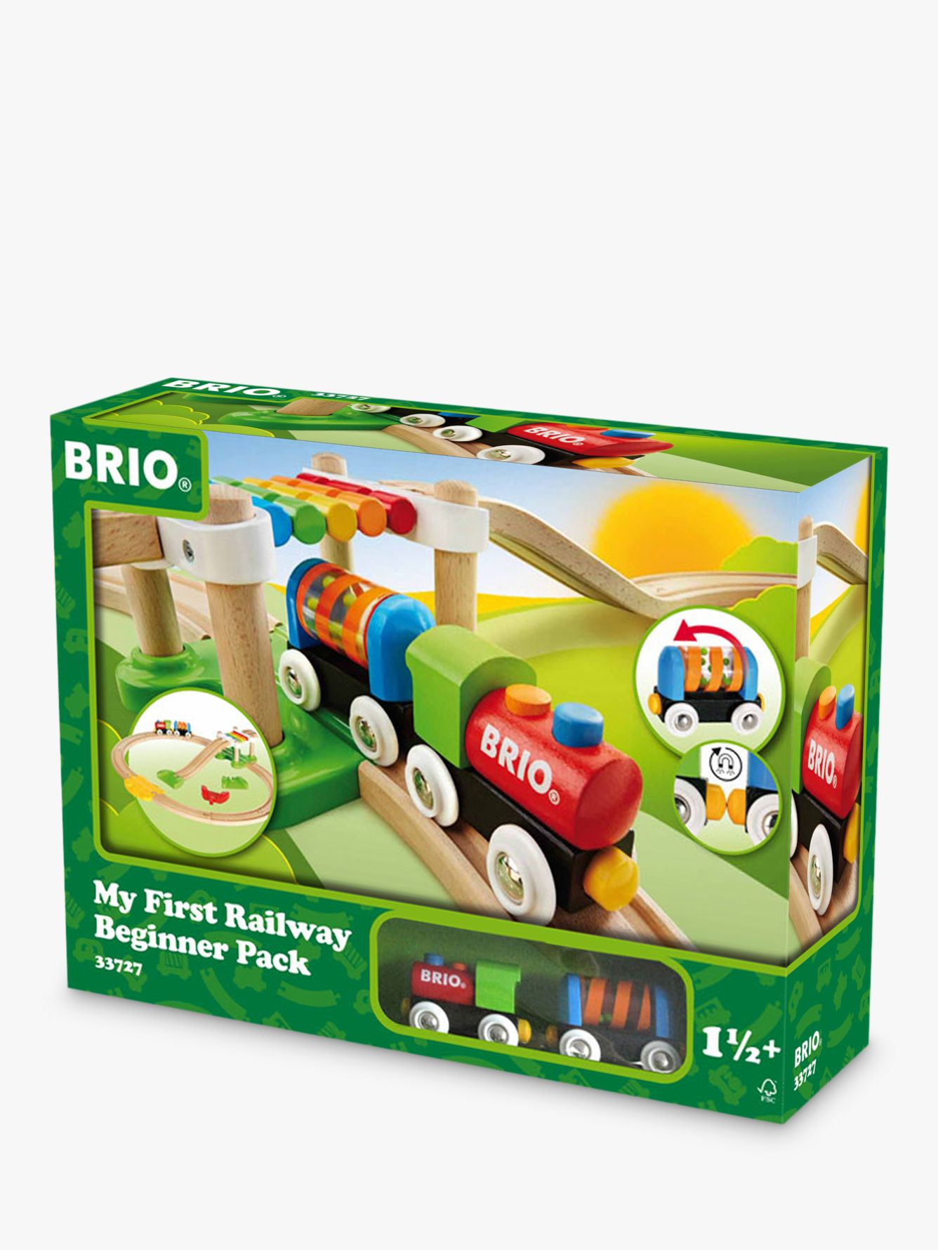 BRIO BRIO 33727 My First Railway Beginner Pack
