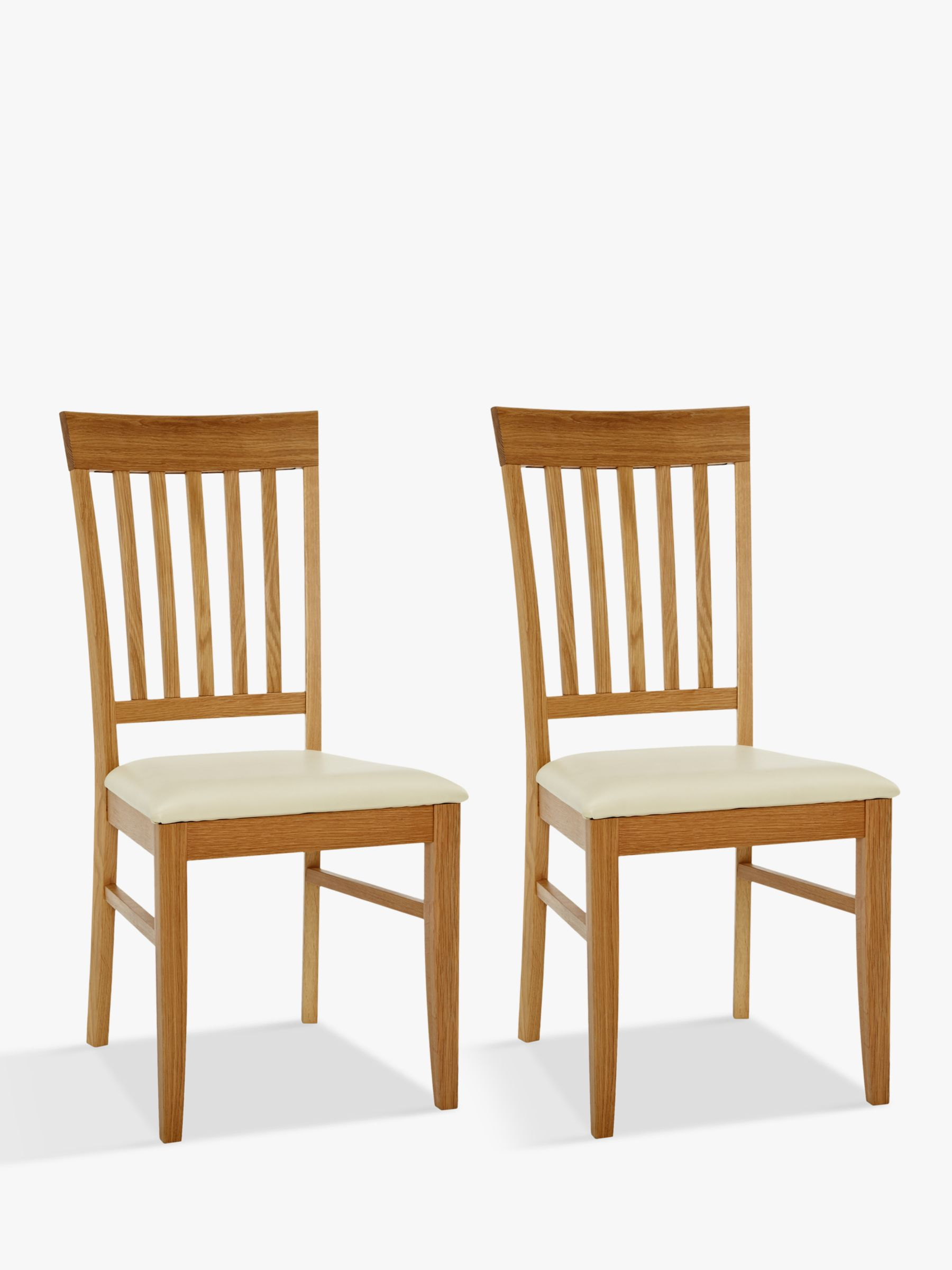John Lewis Partners Alba Dining Chairs Set Of 2 At John Lewis Partners