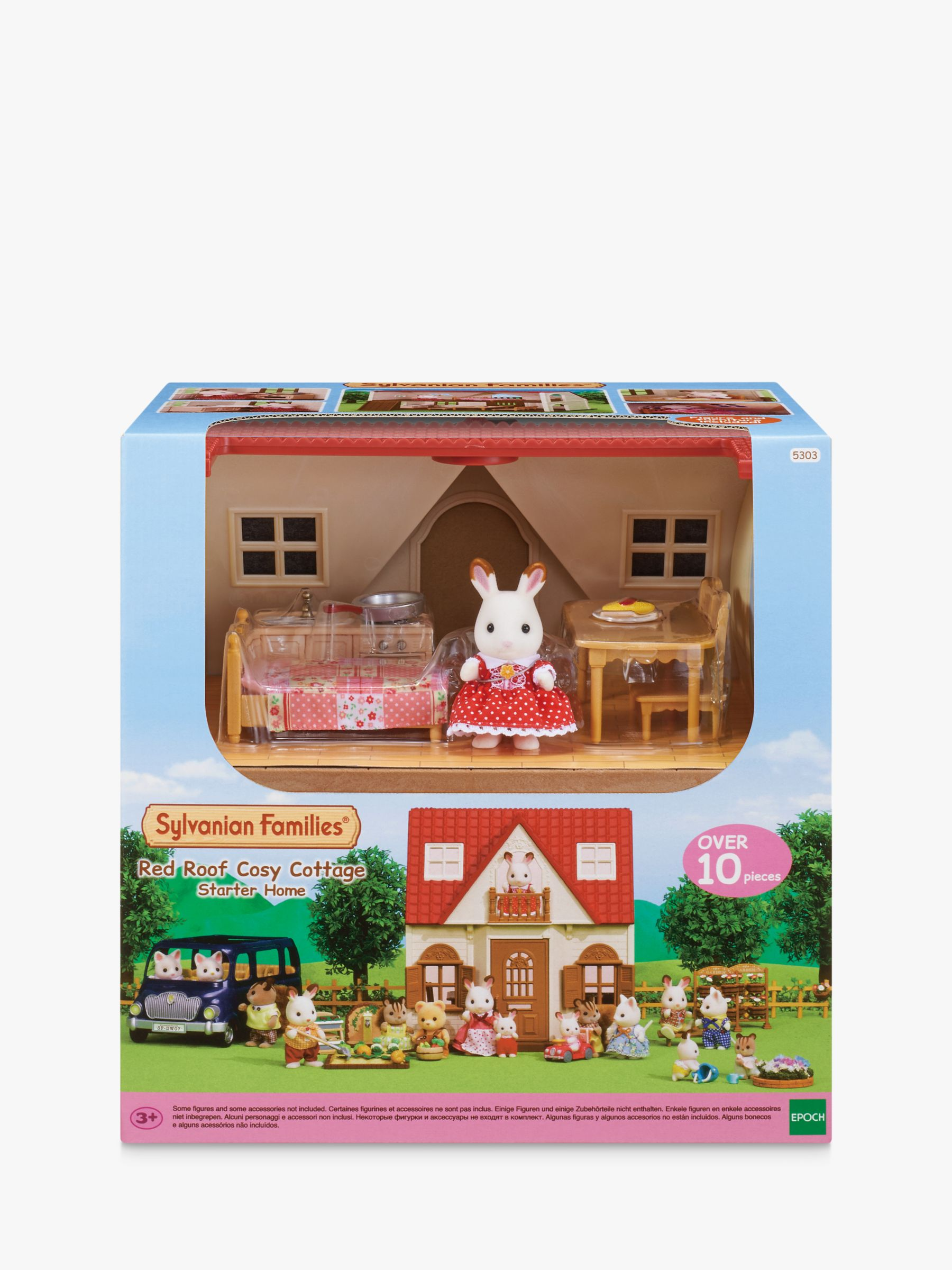 Sylvanian Families Sylvanian Families Red Roof Cosy Cottage