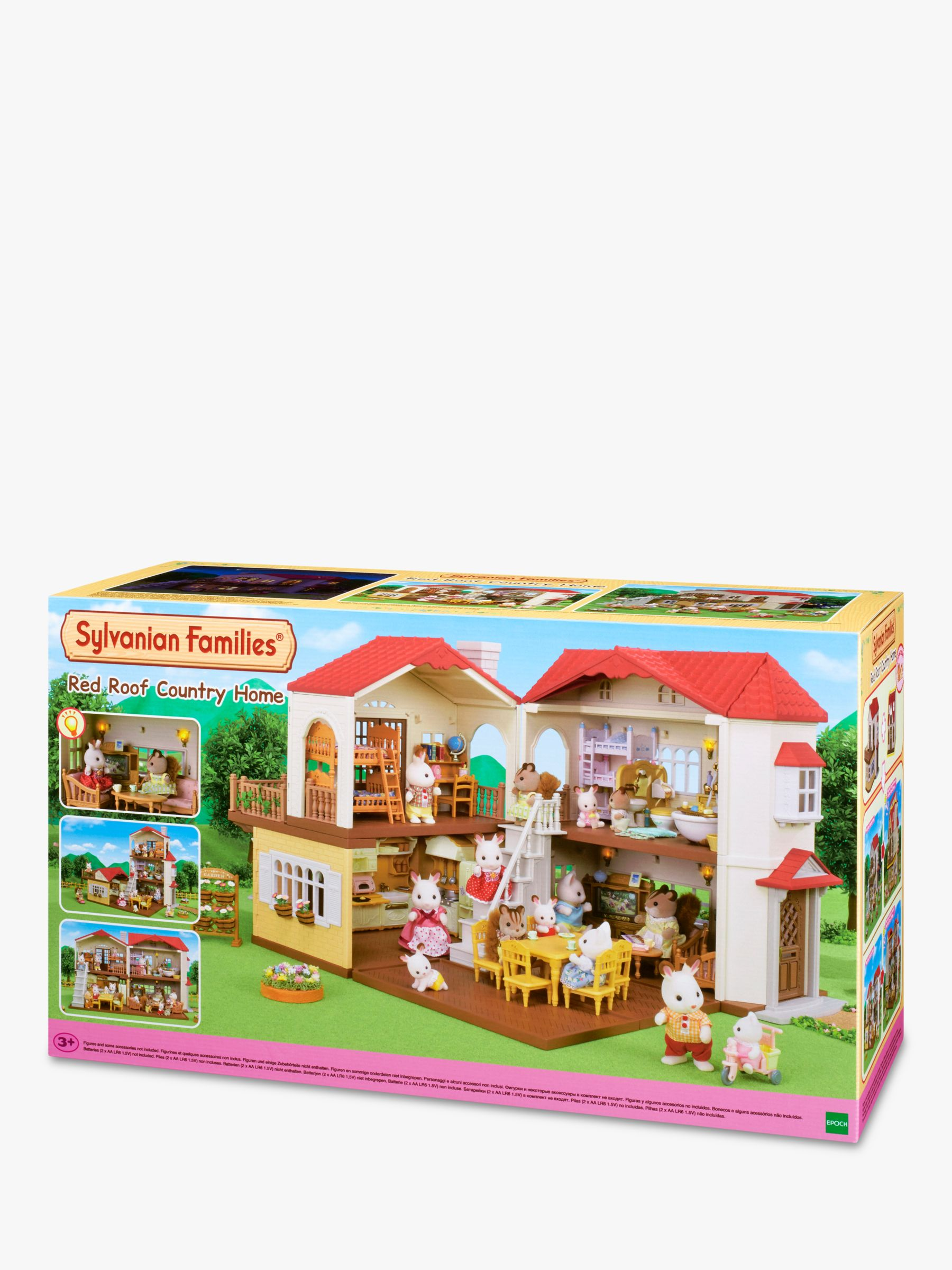 2 Sylvanian Families Sets Breakfast and Outing Accessory Sets Sold Together