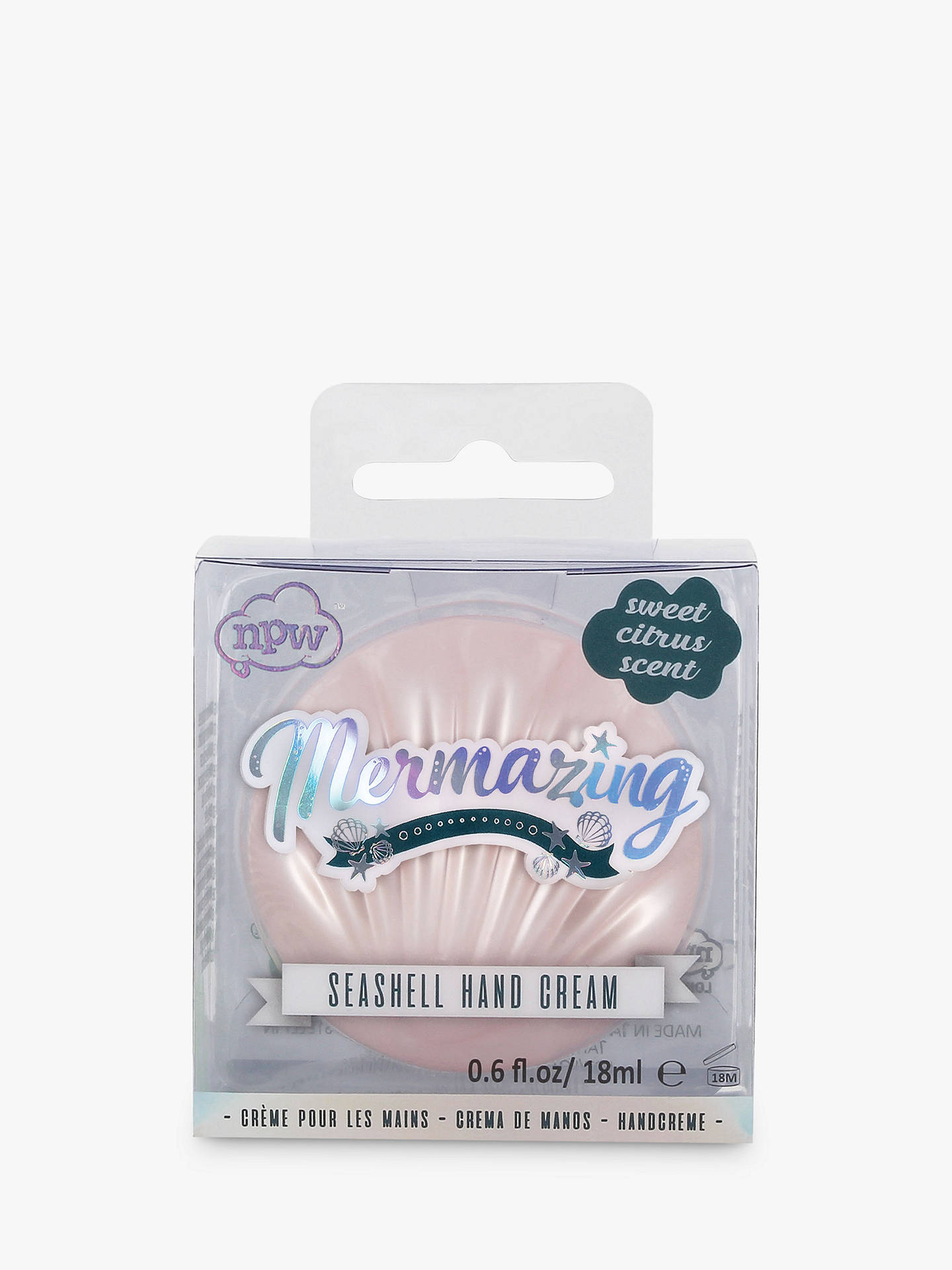 Buy NPW Mermaid Seashell Hand Cream Online at johnlewis.com