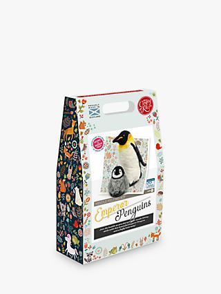 The Crafty Kit Company Needle Felted Emperor Penguin Craft Kit