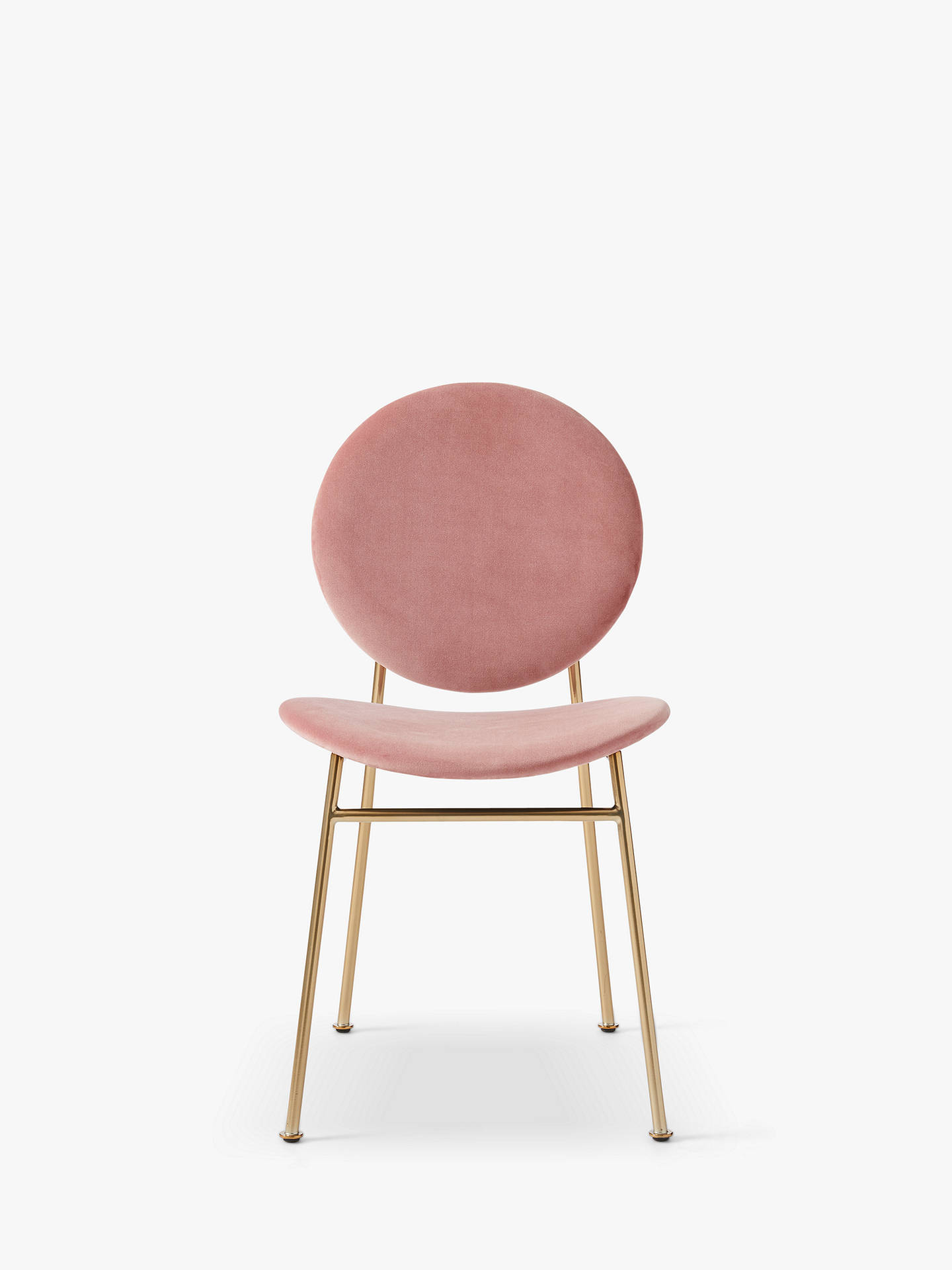 Buy west elm Ingrid Dining Chair, Pink Online at johnlewis.com