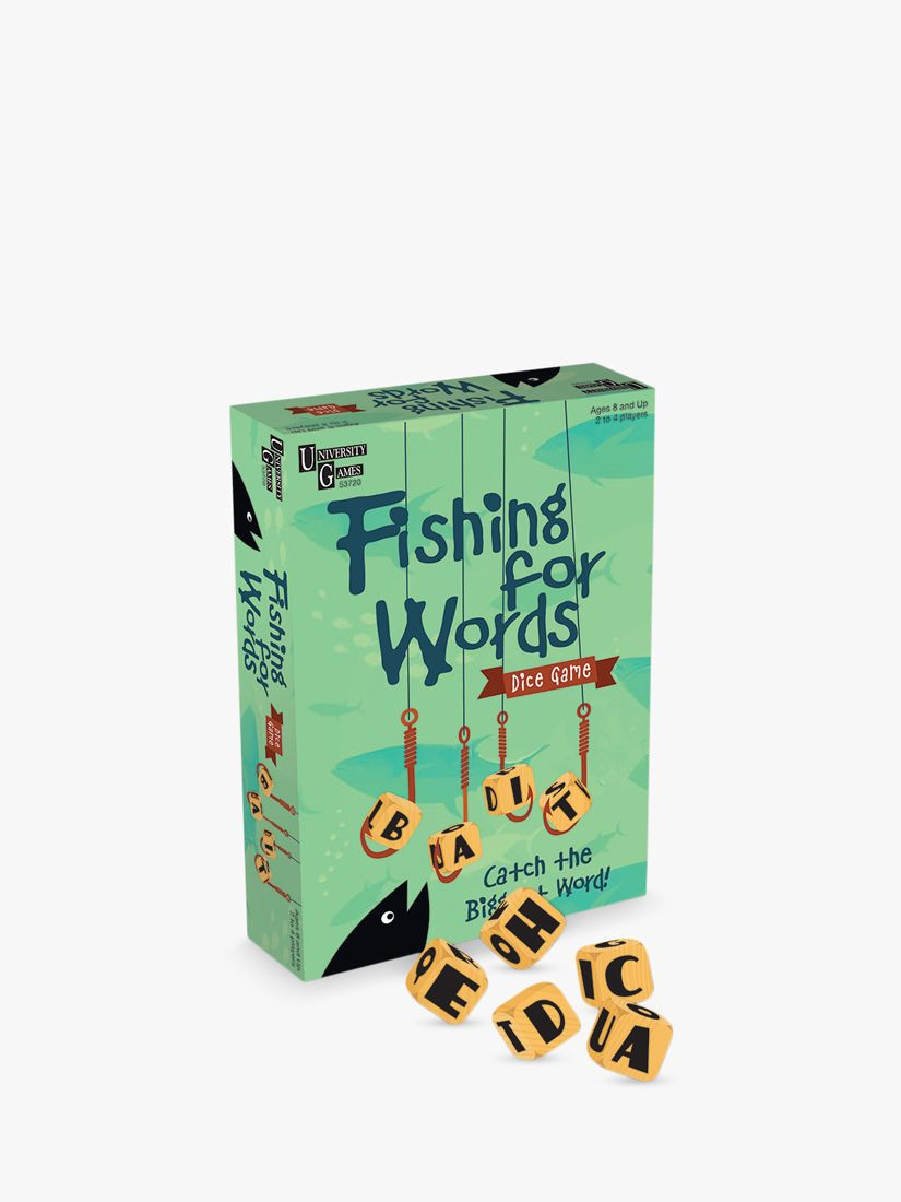 University Games Fishing For Words Mini Game