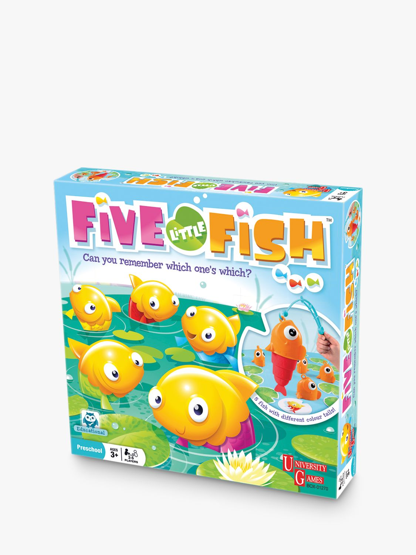 University Games Five Little Fix Box Game