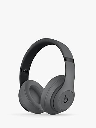 Beats Studio³ Wireless Bluetooth Over-Ear Headphones with Pure Adaptive Noise Cancelling & Mic/Remote, Grey