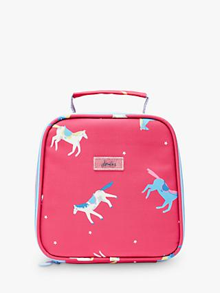 Little Joule Children's Horse Print Lunch Bag, Pink