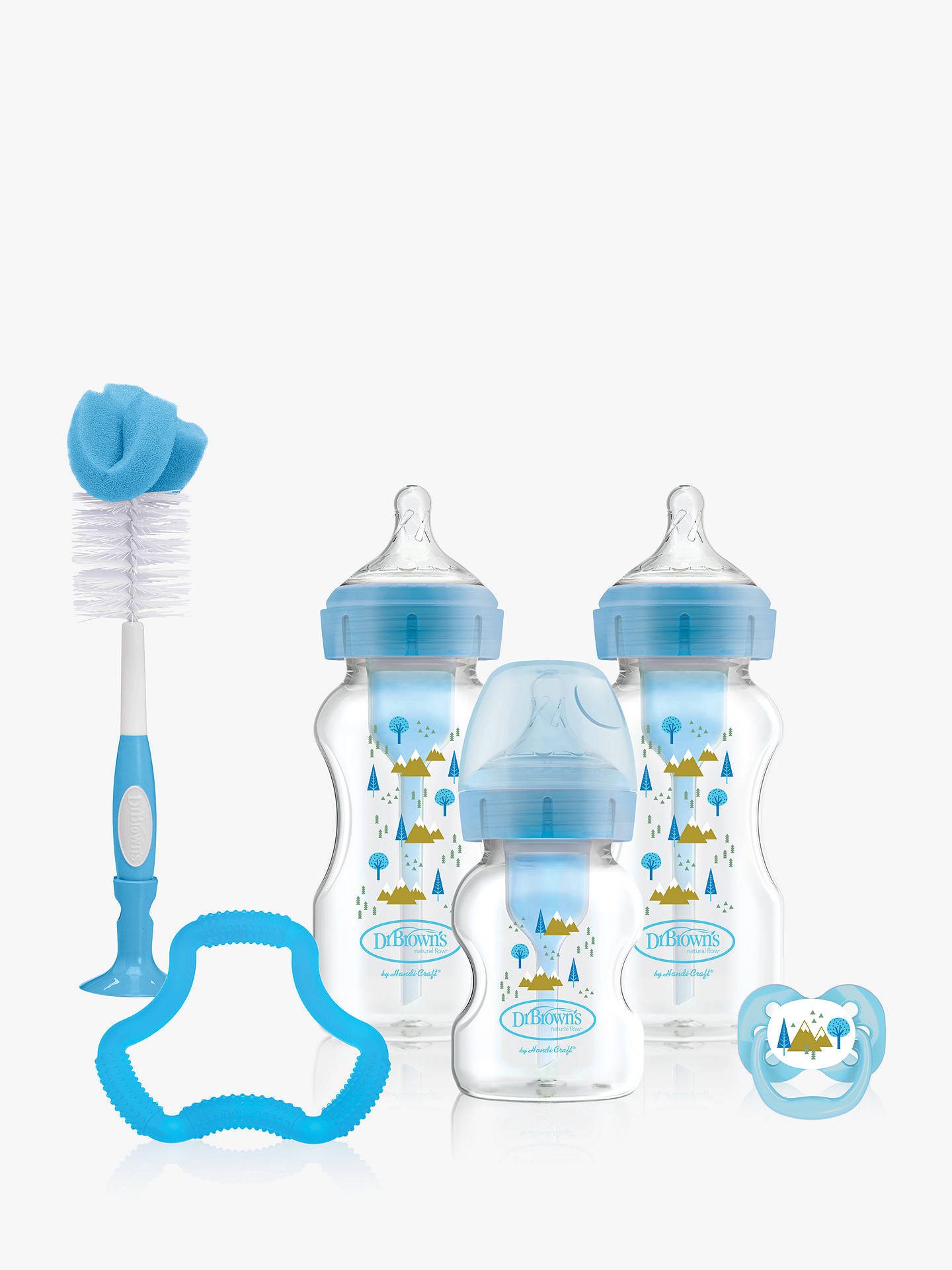 Blue Dr Brown/'s Options Baby Bottles Gift Set
