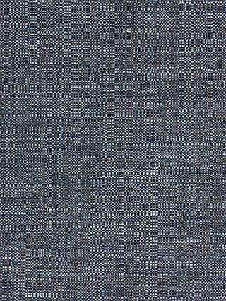 John Lewis & Partners Tonal Weave Made to Measure Curtains or Roman Blind, Navy