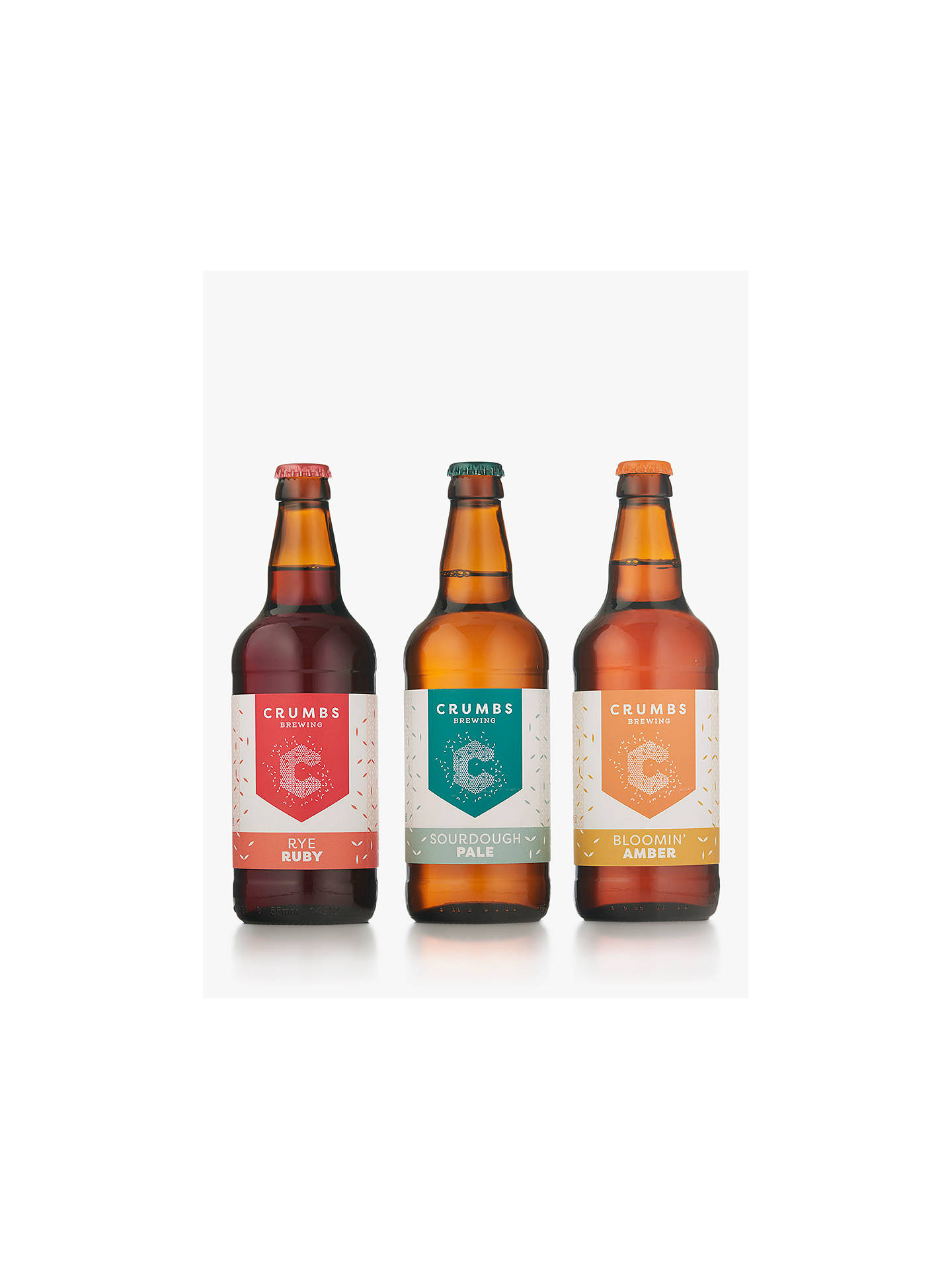 Crumbs Brewing Beer Gift, 3x 500ml at